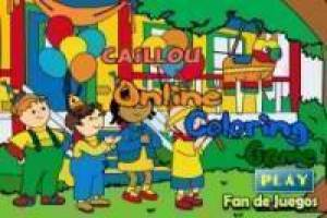 Free Caillou, draw Game