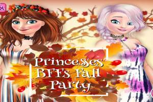 Elsa and Anna: Fall Party