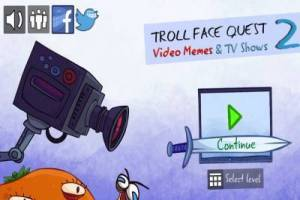 Trollface Quest: Internet and TV Memes 2, Online game
