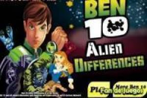 Ben 10 Differences: Ben 10 Game, Online game - FAN FREE GAMES