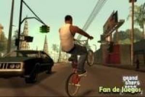 Puzzles Fanfreegames: Grand theft auto san andreas by bike