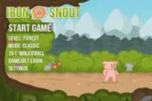 Iron Snout: Pig against wolves: Fight Game, Online game