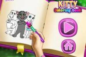 Talking Tom: Coloring Book