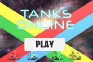 Online Tank Warfare Game
