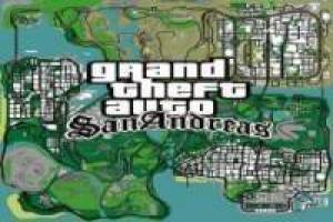 Gta San Andreas Karte.Map Of Grand Theft Auto San Andreas Gta San Andreas Game